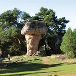 En un impresionante cañón formado por el río Júcar la naturaleza ha esculpido el paisaje en forma de Ciudad Encantada.