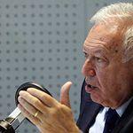 José Manuel García-Margallo. Imagen TVE