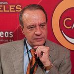 Manuel Juliá, director de España Original, durante un momento de la entrevista realizada en La Cerca Televisión.