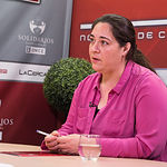 Dolores Suárez, presidenta de la IGP Ajo Morado de Las Pedroñeras .