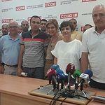 Jornaleros denunciantes CCOO