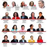 Miembros del Gobierno hasta las 17.30 h. del día 10-01-20. Imagen de Europa Press.