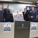 Presentación de las Jornada de Puertas Abiertas de la Base Aérea de Albacete.