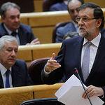 Mariano Rajoy - Sesión de control en el Senado - 24-06-14. Foto: Moncloa.
