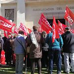 Concentración en Albacete en defensa de pensiones dignas.
