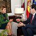 María Dolores Cospedal se reúne con el presidente de la Diputación de Cuenca, Benjamín Prieto (2). Foto: JCCM.