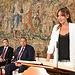 Inmaculada Herranz toma posesión de la Consejería del Plan de Garantías Ciudadanas. (Fotos: José Ramón Márquez // JCCM)