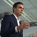 Pedro Sánchez en la convocatoria de prensa previa a la reunión del Comité Federal de este sábado uno de octubre.