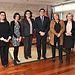 Echániz con miembros del Jurado de Medallas al Mérito en Iniciativa Social. Foto: JCCM.
