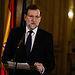 Encuentro del presidente del Gobierno, Mariano Rajoy, con los medios de comunicación en la Embajada de España en París, antes de asistir a la manifestación por las víctimas del terrorismo que se celebra en la capital francesa. Embajada de España, París - 11/01/2015