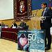 Echániz interviene en el acto institucional del 50 Aniversario del Hospital Virgen de la Luz de Cuenca (2). Foto: JCCM.