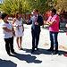 Marcial Marín visita las obras de reforma y acondicionamiento del colegio Fernando de Alarcón.