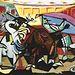 En la imagen, una obra del pintor Pablo Picasso. Pablo Picasso (1881–1973), Corrida de toros, 1934. The Phillips Collection, Washington DC. © Sucesión Pablo Picasso, VEGAP, Madrid 2016.