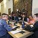 Consejo de Gobierno abierto con la Plataforma de la Dependencia. Foto: JCCM.