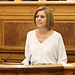 Cospedal en el Debate de Investidura del candidato socialista a la Presidencia de la Junta,