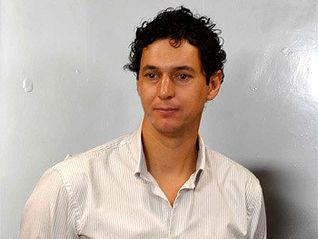 El concejal de Deportes, César Manrique, en rueda de prensa