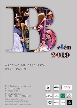 Belén de la parroquia de El Buen Pastor - miércoles, 4 de diciembre de 2019.