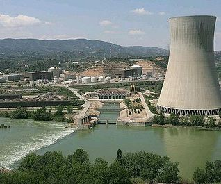 Central nuclear de Ascó. Foto de archivo.
