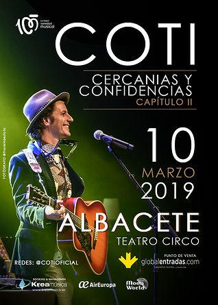 Coti en Albacete.
