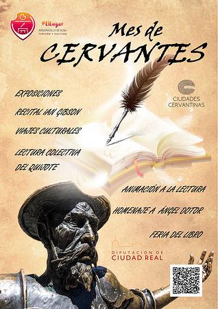 Mes de Cervantes, Argamasilla de Alba.