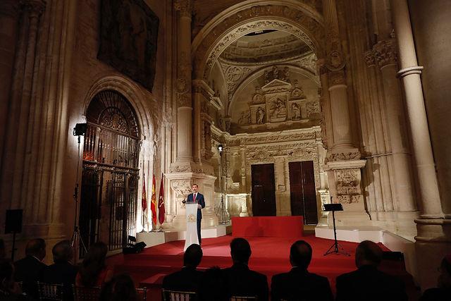 Entrega de Premios Nacionales de Cultura.