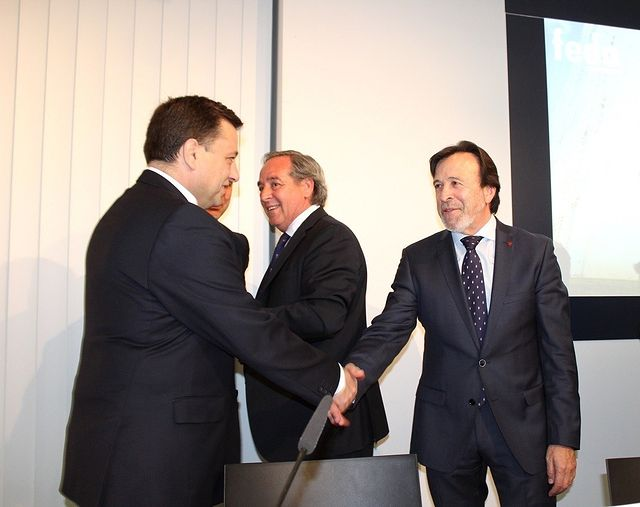 Clausura de la asamblea electoral de FEDA