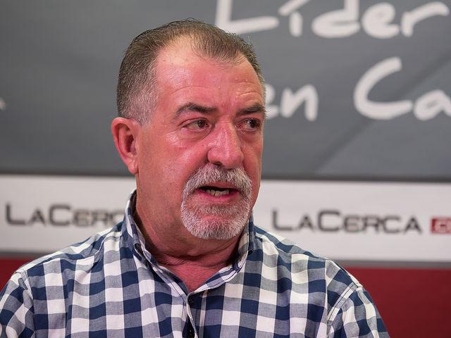 Mateo Guzmán Aparicio, vicepresidente y vocal de deportes de la Asociación de Vecinos del barrio Nuestra Señora de Cubas - Industria