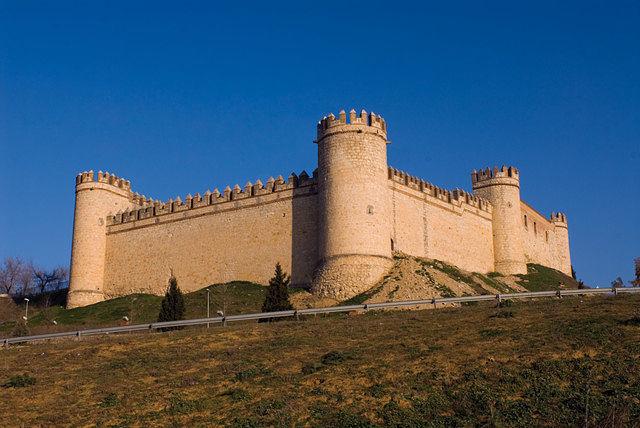 Castillo de Maqueda, declarado Monumento Histórico Artístico el 3 de junio de 1931.