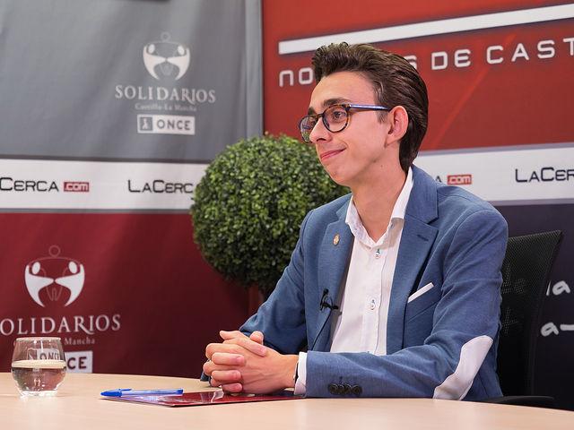 Jesús Ruiz, Delegado de Estudiantes de la UCLM