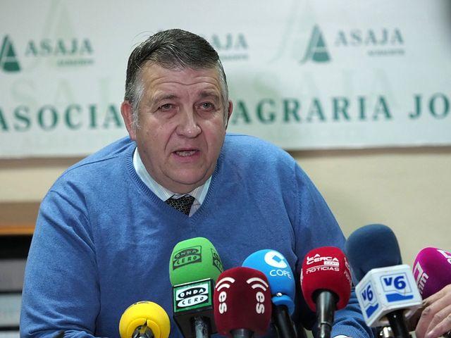 Asaja Albacete hace balance del año agrario en la provincia.
