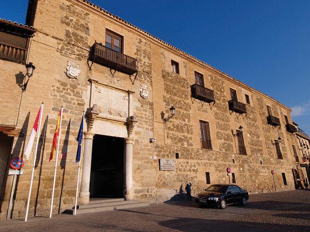 Palacio de Fuensalida, en Toledo, sede del Gobierno de Castilla-La Mancha.