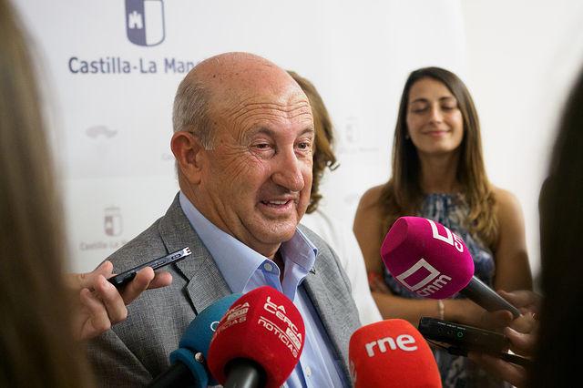 Justo Losa, presidente de la Federación de Balnearios de Castilla-La Mancha. Foto: Manuel Lozano García / La Cerca