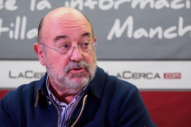 Francisco Montero Riquelme, académico de la Academia de Gastronomía de Castilla-La Mancha. Foto: Manuel Lozano García / La Cerca