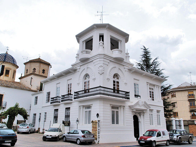 Vista del Palacio de los Condes de Villaleal, en La Roda.