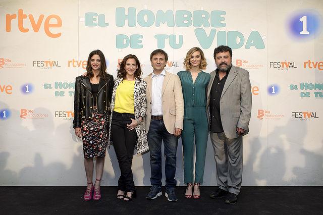 "Reparto ""El hobre de tu vida"" - TVE - José Mota."
