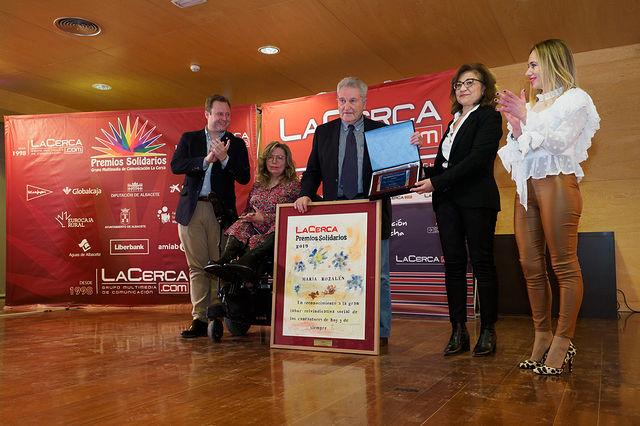 Gala de entrega de los XI Premios Solidarios del Grupo Multimedia de Comunicación La Cerca. Foto: Manuel Lozano García / La Cerca