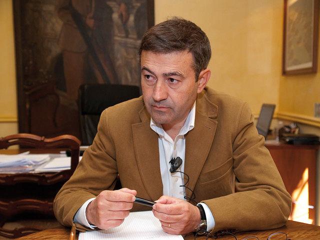 Julián Illán (un magnífico profesional), gerente de la finca Dehesa de Los Llanos.