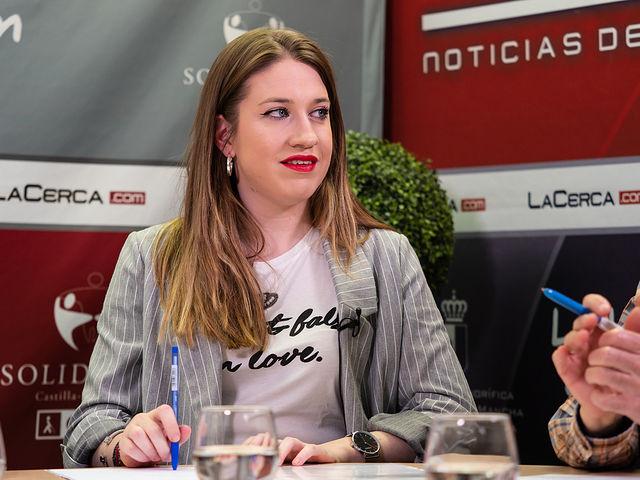 Andrea Andrés, estudiante de Economía y presidenta de ACTÚA