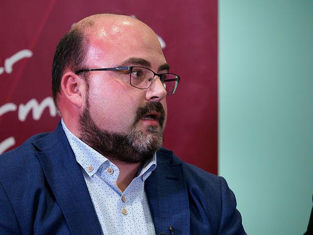 Julián García, gerente de la Cooperativa Vinícola de Villarrobledo