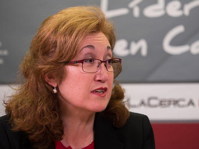María Dolores Gómez, Alcaldesa de Carcelén y gerente del Servicio Provincial de Atención Ciudadana de la Diputación de Albacete