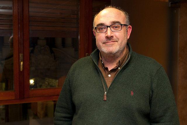 Ángel Ramírez Ludeña, propietario de Bodega Pago de Guzque