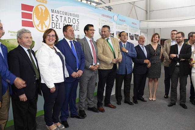 Carmen Olmedo en la inauguración de FERDUQUE.