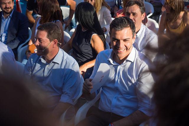 Mitin de Pedro Sánchez en Albacete.