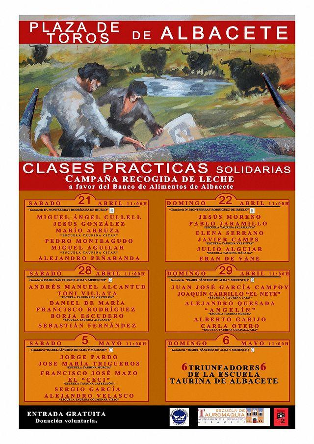 Clases Prácticas 2018 - Escuela Taurina Albacete