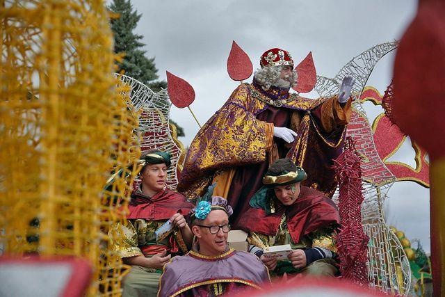 Cabalgata de Reyes de Toledo 2018.