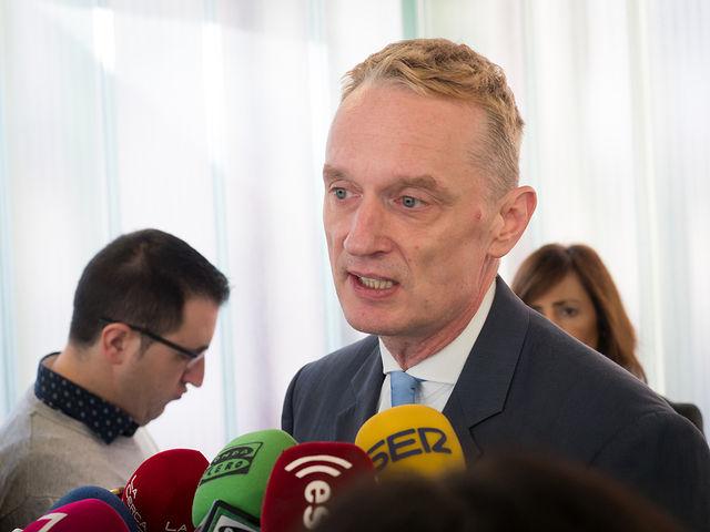 Juergen Foecking, director adjunto de la Representación de la Comisión Europea en España.