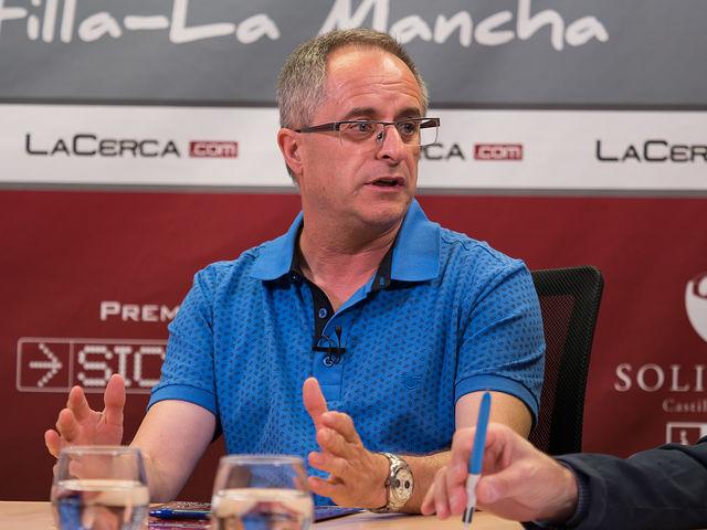 Rafael Contreras Martínez, tesorero de la Asociación de Vecinos del barrio Nuestra Señora de Cubas - Industria.