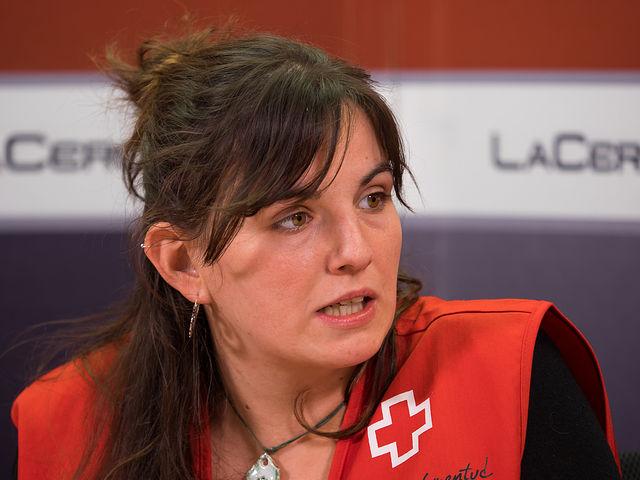 Pilar Bernabéu, técnico de Acompañamiento Socio-Educativo e Inserción a Jóvenes Ex tutelados y/o en Riesgo de Exclusión