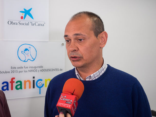 Vidal Quiralte, presidente de AFANION