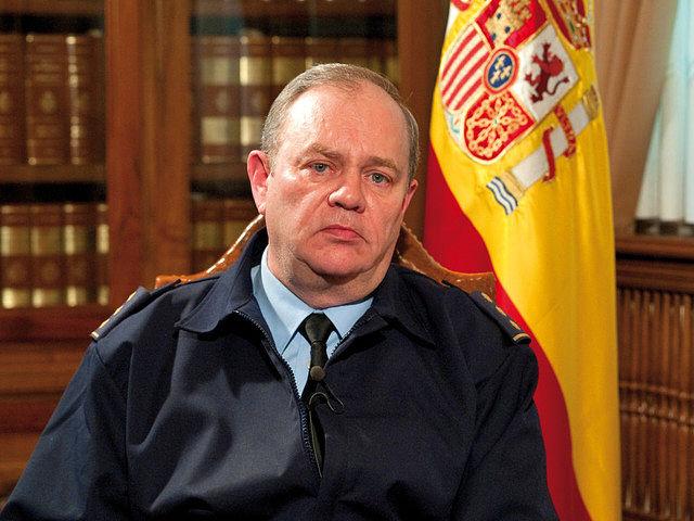 Juan Antonio Navarro, Coronel Jefe de la Maestranza Aérea de Albacete.